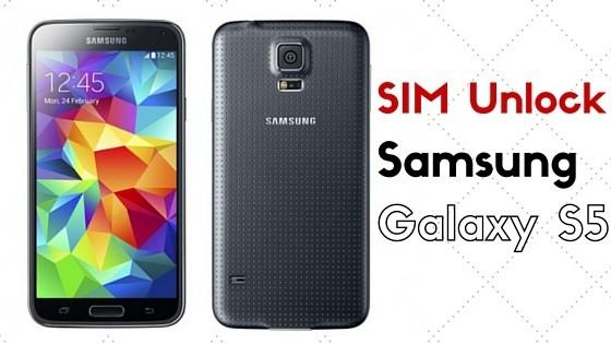 SIM Unlock Samsung Galaxy S5