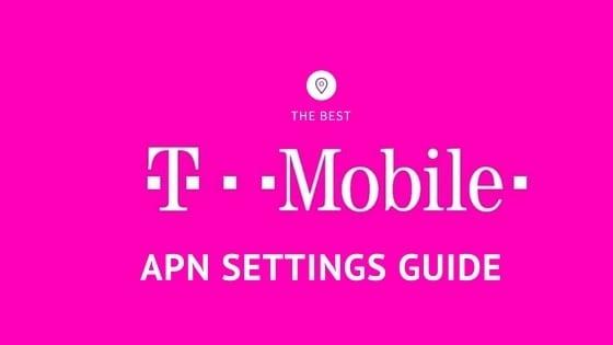 T-Mobile APN Settings Configuration