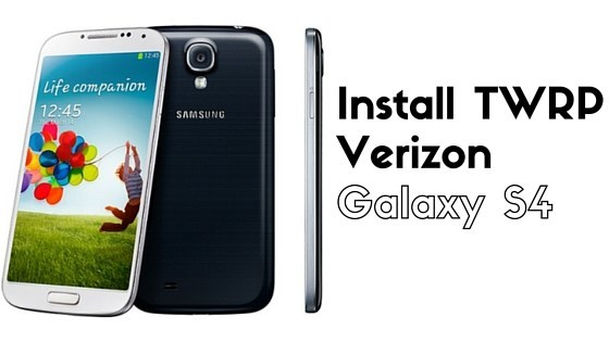 TWRP Recovery for Verizon Galaxy S4 SCH-i545