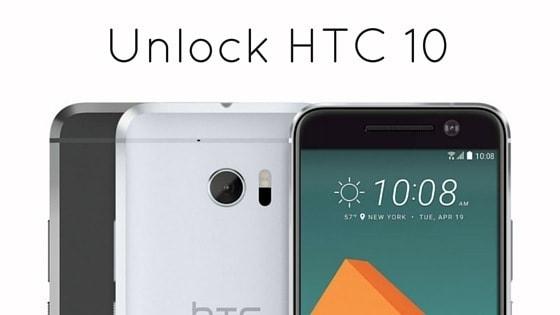SIM Unlock HTC 10