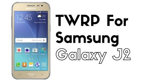 TWRP for Samsung Galaxy J2