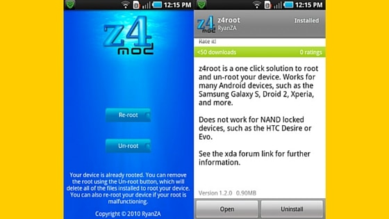 Download Z4Root APK 2018 latest version for Android