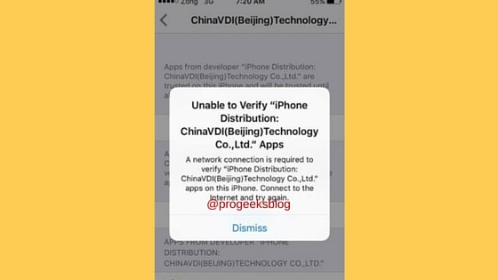 Unable to verify iPhone Distribution