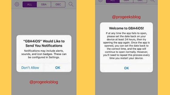 Welcome to GBA4iOS, install successfully iOS 9 iPhone, iPad and iPod Touch