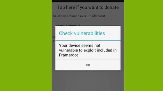 Check vulnerabilities