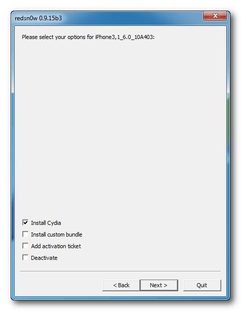 rednow-install-cydia-screen