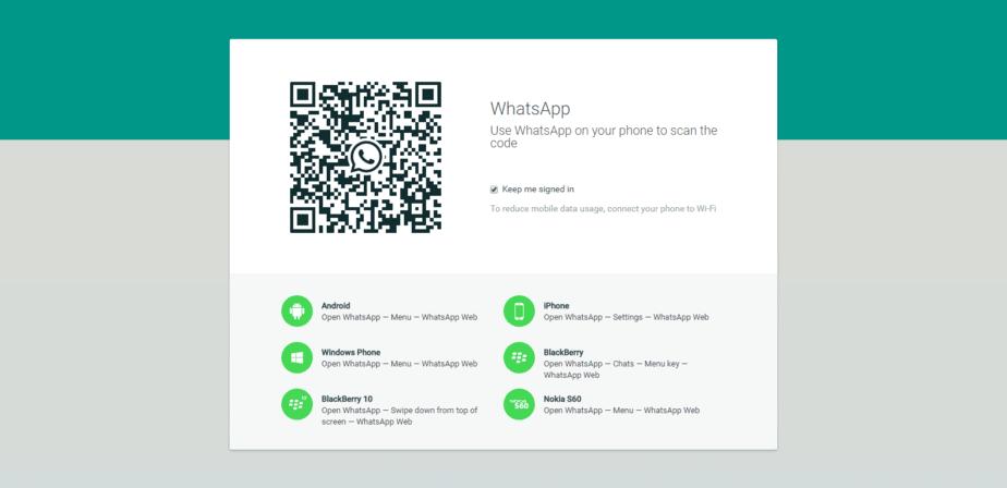 Whatsapp web application