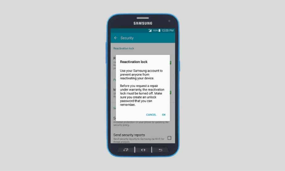 How to Turn ON /OFF Factory Reset Protection On Samsung Galaxy