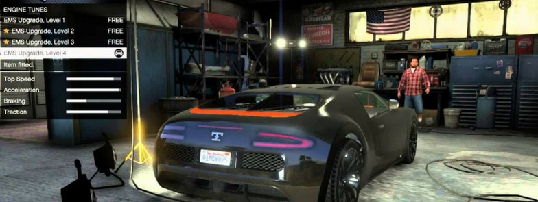 GTA Mostwanted Features - Cool car customizations
