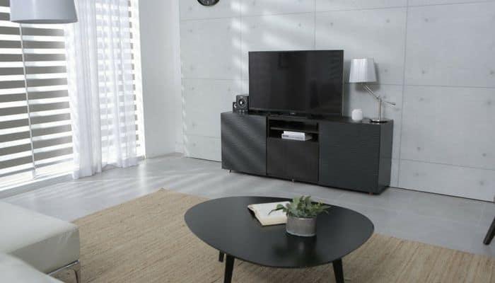 Living room, TV,