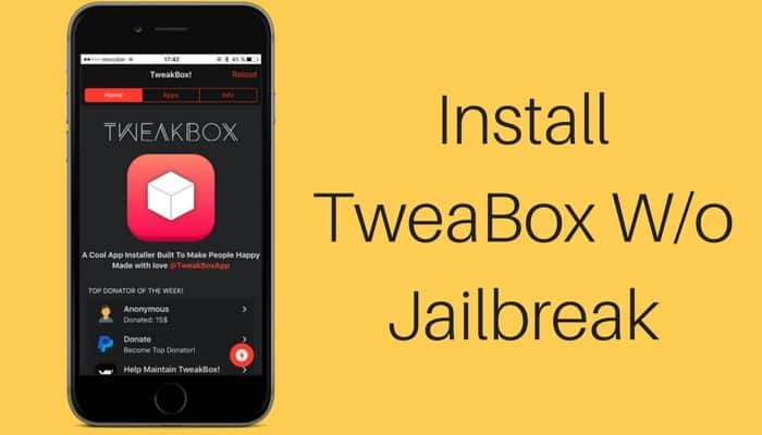 How to Install TweakBox on iPhone/ iPad Without Jailbreak