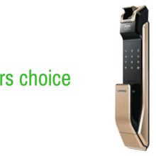 Our editor choice for best fingerprint doorlock