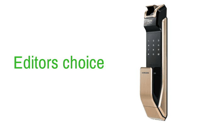 Our editor choice for best fingerprint doorlock