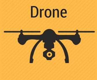 drone for aerial photography and videography