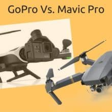 Mavic Pro and GoPro Karma comparison
