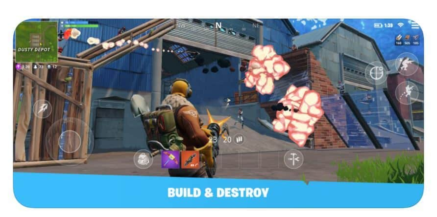 Fortnite Battle Royale Hits The Ios App Store You Can Download But