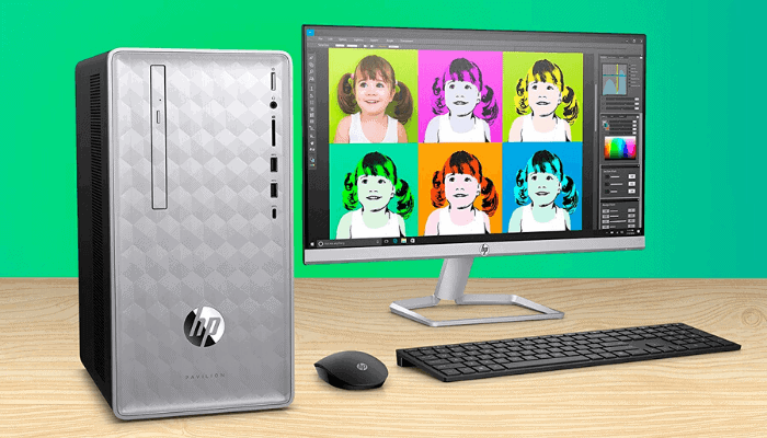 HP 8th Gen Core i3 Gaming PC