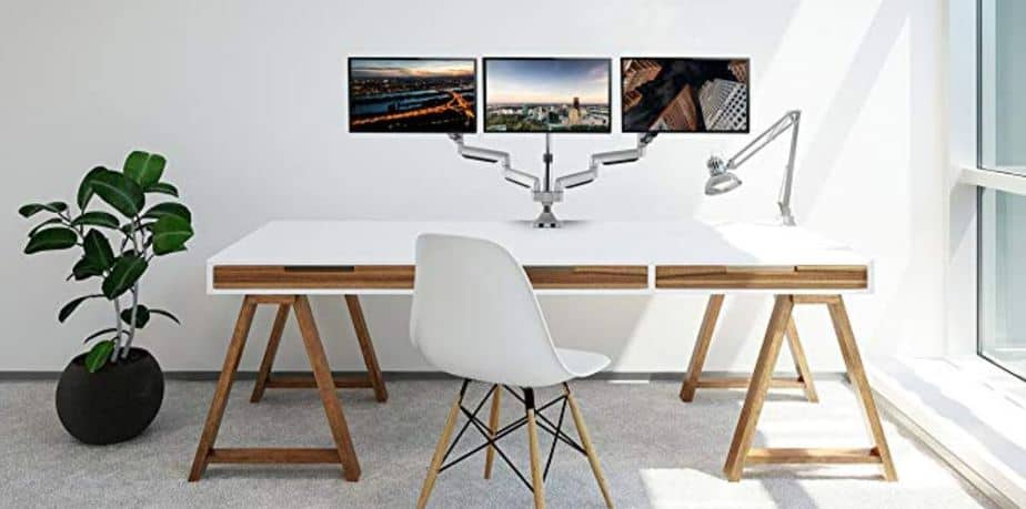 best triple monitor stand